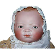 Rare Large Lifesize 20 inch Grace S. Putnam Bye-Lo Baby Doll 1923