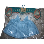 Mint in Package Baby Doll Clothes 1960