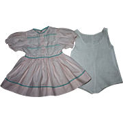 Original Ideal Saucy Walker Dress and Chemise 1952