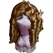 Mohair Doll Wig Size 10