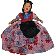 Fabulous Women Ethnic Topsy-Turvy Doll 1940s