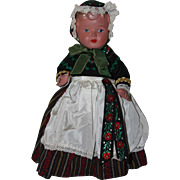 Sweet Chubby Celluloid Toddler Doll Germany