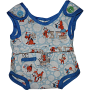Adorable Whimsical Print Romper for Composition Toddlers