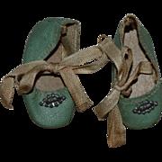 Blue Madame Alexander Wendy Ann Shoes 1930s