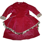 Two Piece Ensemble for Large Bisque Doll