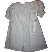 White Christening Coat and Bonnet for Babies 1940