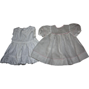 Dotted Swiss Doll Dress and Slip for Dy-Dee Louise and Friends 1950
