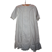 Antique Lawn Baby Gown 1910