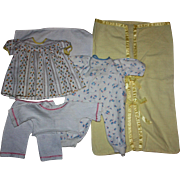 Doll Dress and Layette Items For Dy-Dee baby and Friends 1950s