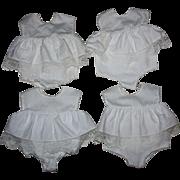 Four Chatty Baby Doll Combination Slip-Underwear 1960s