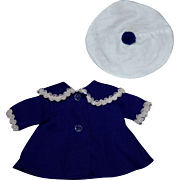 Arranbee Littlest Angel Doll Coat and Hat 1954