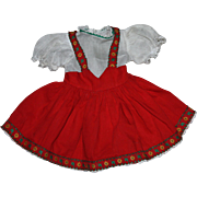 Original Ideal P92 Toni Doll Dress 1952