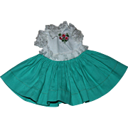 Original Ideal Shirley Temple Doll Dress 1950s