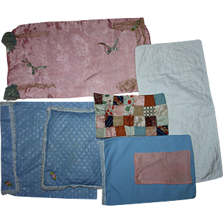 Varied Group of Doll Bedding