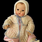 Pretty Three Piece Sweater Set for Big Baby Dolls 1930s