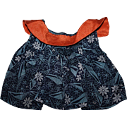 Darling Crepe Dress Effanbee Patsy Doll 1930s