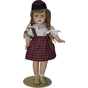 Three Piece Doll Outfit for Composition Dolls 1940s