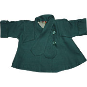 Dimity Doll Dress and Coat for Large Composition Dolls 1930s