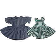 Ideal Harriet Hubbard Ayer Dress and Pinafore 1952
