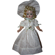Three Piece Flocked Nylon Southern Bell Doll Outfit