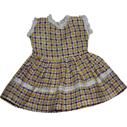 Doll Dress and Matching Underwear 1950s