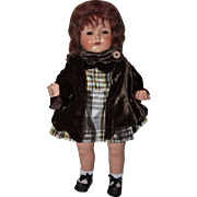 Doll Dress and Coat for Mama Dolls 1930s