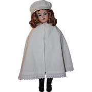 Antique Child Cape also Great for Large Bisque Dolls