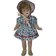 Doll Dress and Bonnet 1950s