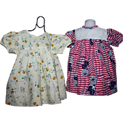 Two Baby Doll Dresses for Large Babies