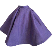 Madame Alexander Tagged Cissy Doll Skirt 1950s