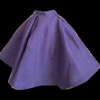 Madame Alexander Tagged Cissy Doll Skirt 1950s