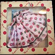 Mint in Box Nancy Ann Fashion Doll Dress and Shoes 1950s
