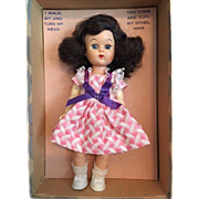 Mint in Box Joanie Walker Doll 1950s