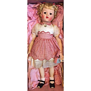 Extremely Rare Mint in Box Madame Alexander Barbara Jane Doll 1952