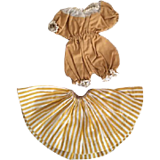 Two Piece Ideal Shirley Temple Doll Outfit 1950s