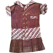Darling Dropped Waist Doll Dress for French or German Bisque