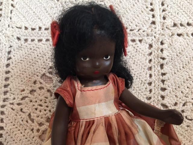 Htf black nancy ann storybook doll topsy 1940s from camelot pc rl on