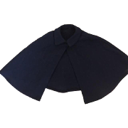 "Madame Alexander Navy Blue Cape ""Miss America""'"