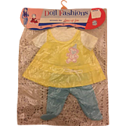 Mint in Package Premiere Baby Doll Outfit 1960s