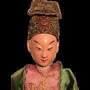 Wonderful Original Antique Chinese Opera Doll 1900