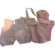 Three Piece Mama Doll Outfit 1920