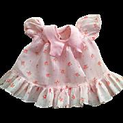 "Tagged Madame Alexander ""Betty"" Doll Dress 1935"