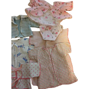 Nine Piece Baby Doll Layette for Small Dy-Dee baby and Friends 1950s