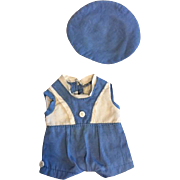 Original Effanbee Patsyette Outfit 1930s