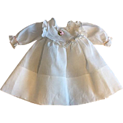 Beautiful White Dress for Bisque Dolls
