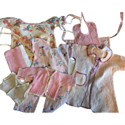 Eight Piece Layette for Dy-Dee Baby and Tiny Tears and Friends 1950