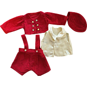 Darling Four Piece Outfit for Skippy 1930s