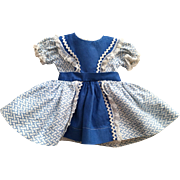 Original Ideal Toni Dress P90 1950s