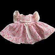 Ideal Dress with Teddy Bear Print 1950s