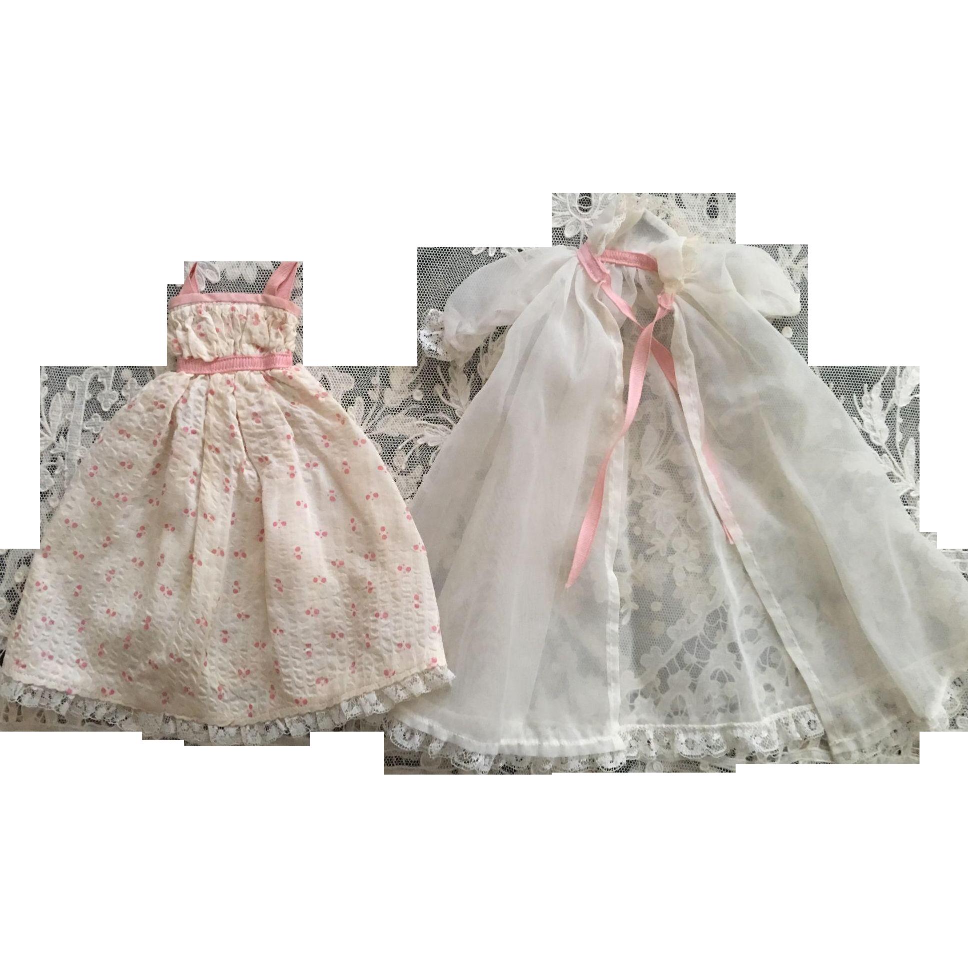 Lovely Peignoir Set for Lissy 1950s